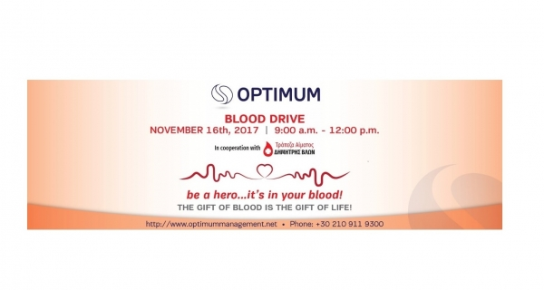 Optimum 1st Blood Drive | November 2017