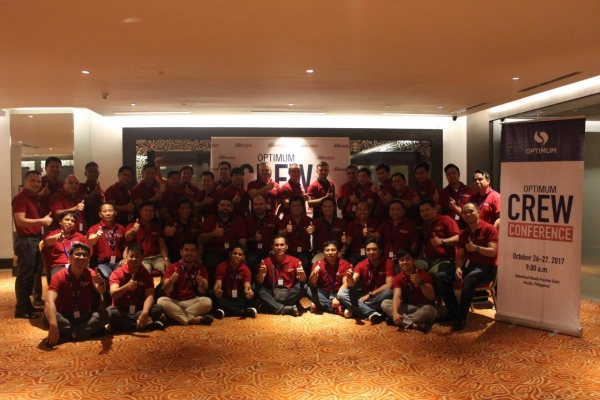 Crew Conference at Manila, Philippines - October 2017